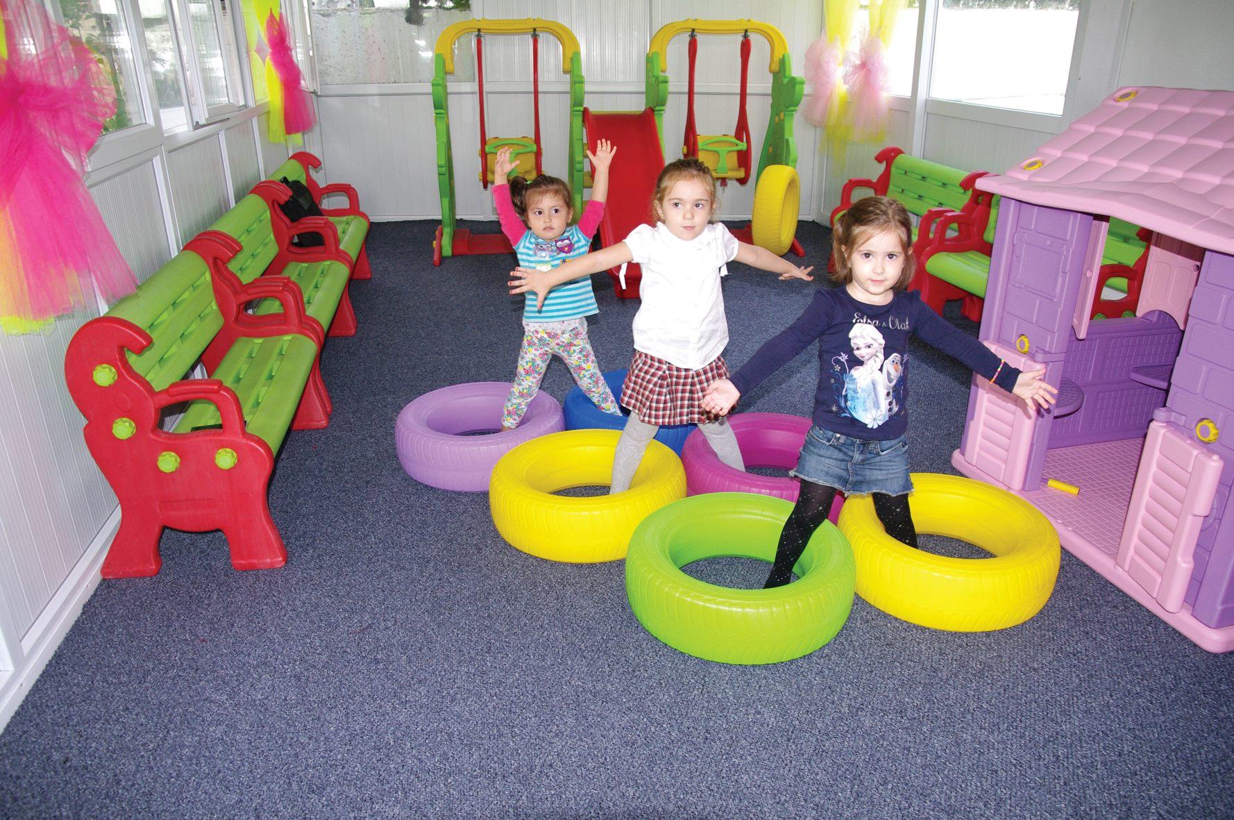 ענק צמיגים צבעוניים | ציוד לגני ילדים | גל גן XC-57